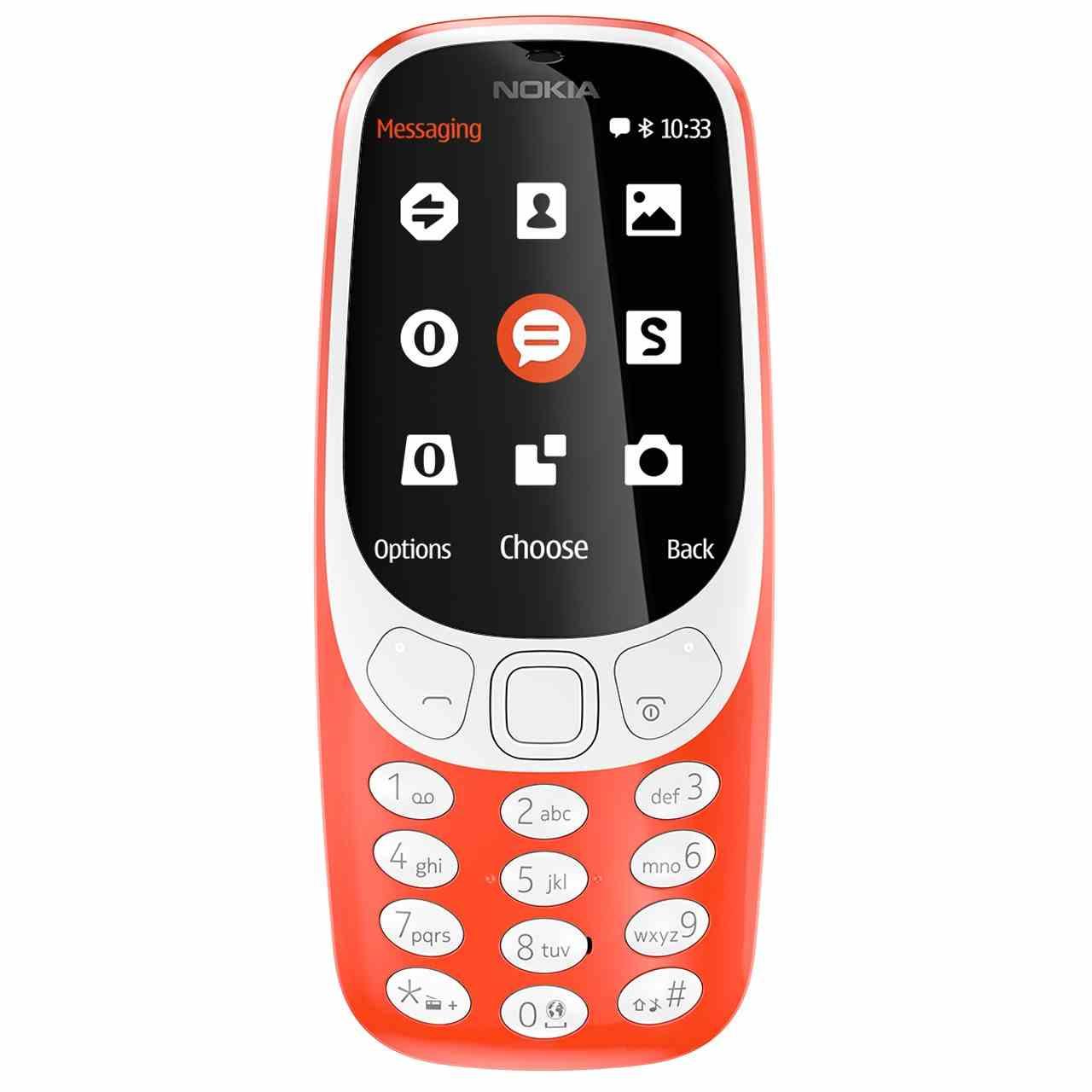 گوشی موبایل نوکیا مدل (2017) 3310 دو سیم کارت